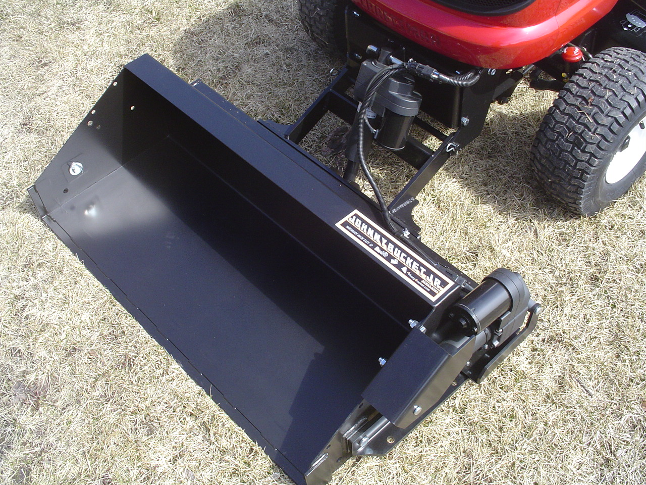 Craftsman Front Scoop Tractor Attachment : Garden tractor scoop attachment ftempo