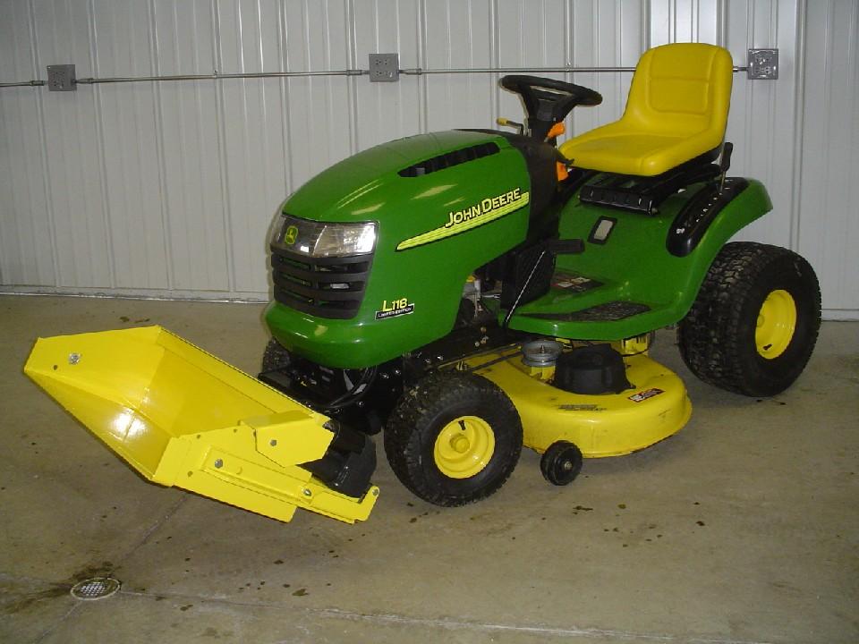 Garden Tractor Bucket : Johnny bucket jr john deere l and g series