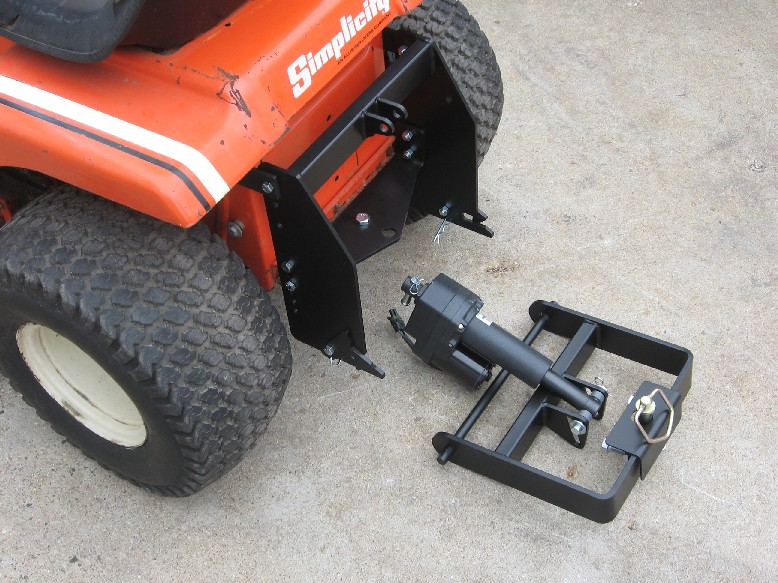 Riding Lawn Mower Sleeve Hitch Droughtrelief Org