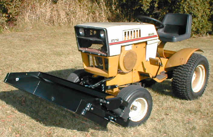 SuburbanLFup johnny bucket jr sears suburban Sears Suburban 12 Garden Tractor at panicattacktreatment.co